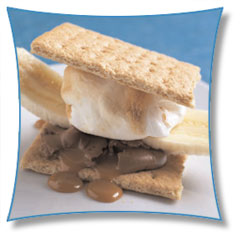 Banana Caramel S'more